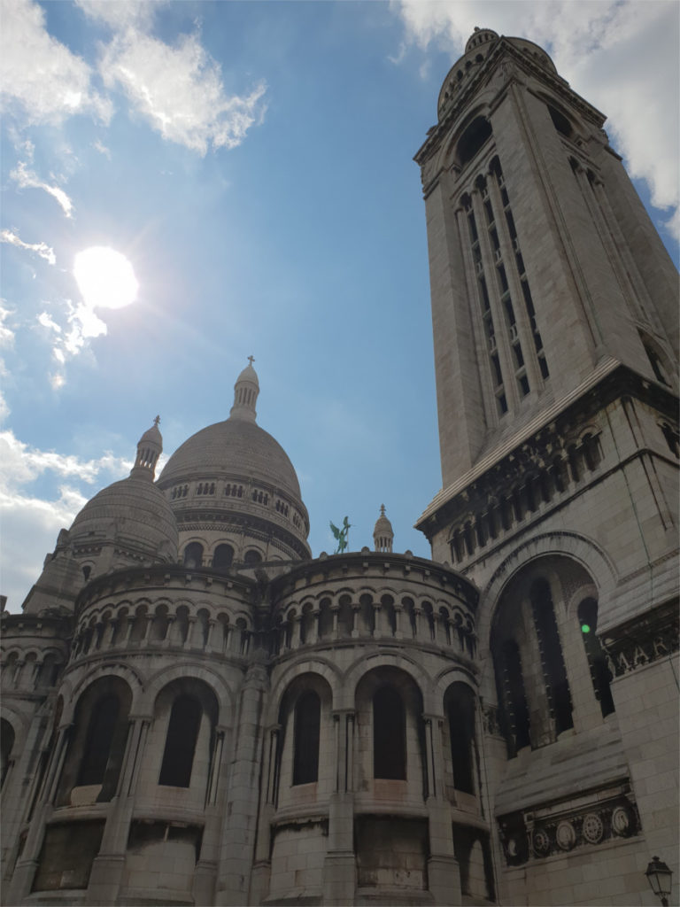 Die Basilika Sacré-Coeur in Montmartre